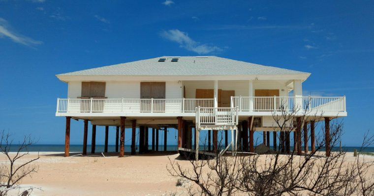The abandoned beach houses of Marineland, FL